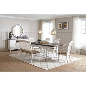 Dining Room Group with Rectangular Table