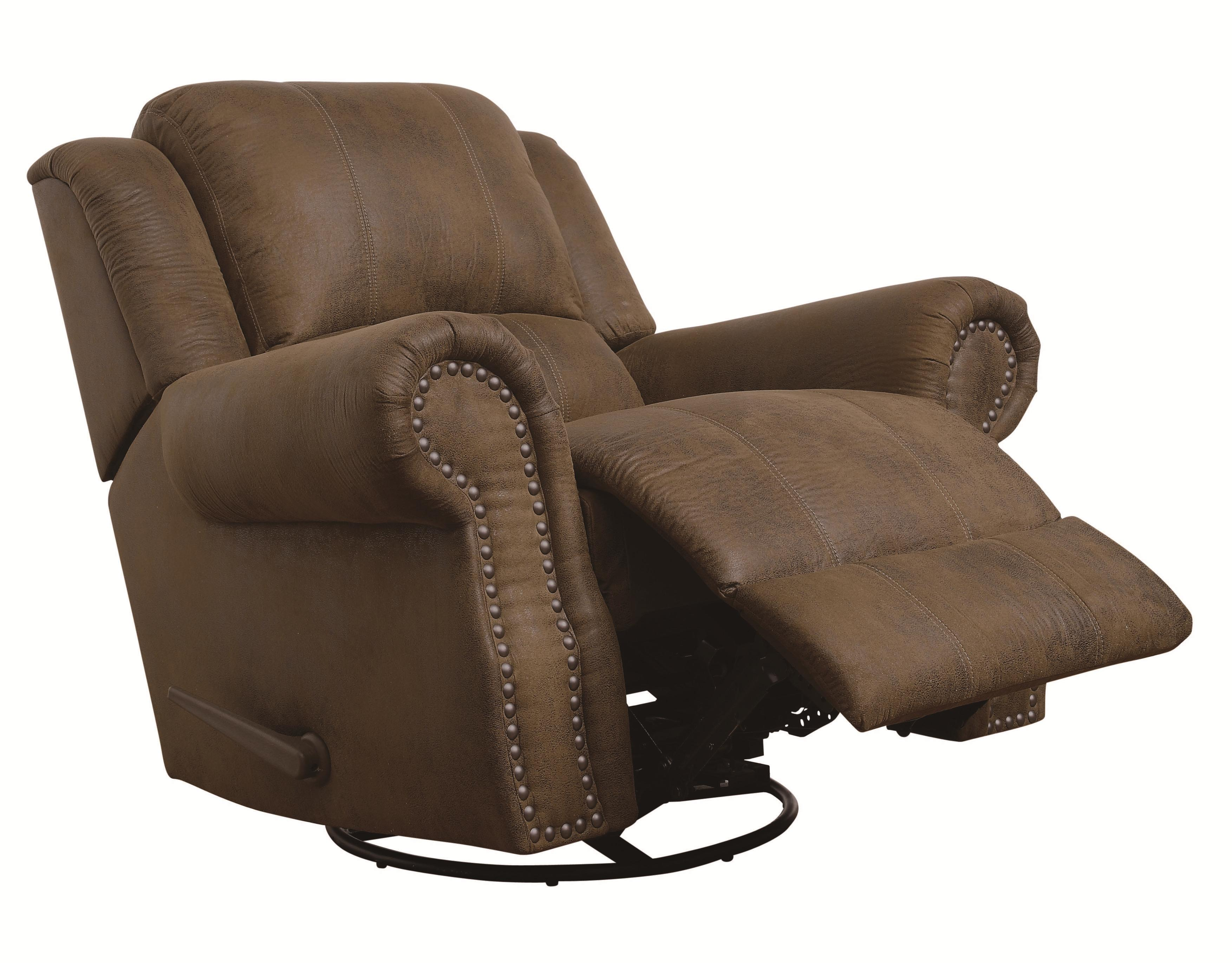 Sir Rawlinson Rocker Recliner with Swivel by Coaster at Northeast Factory Direct