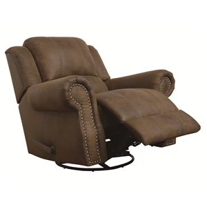 Coaster Sir Rawlinson Rocker Recliner with Swivel