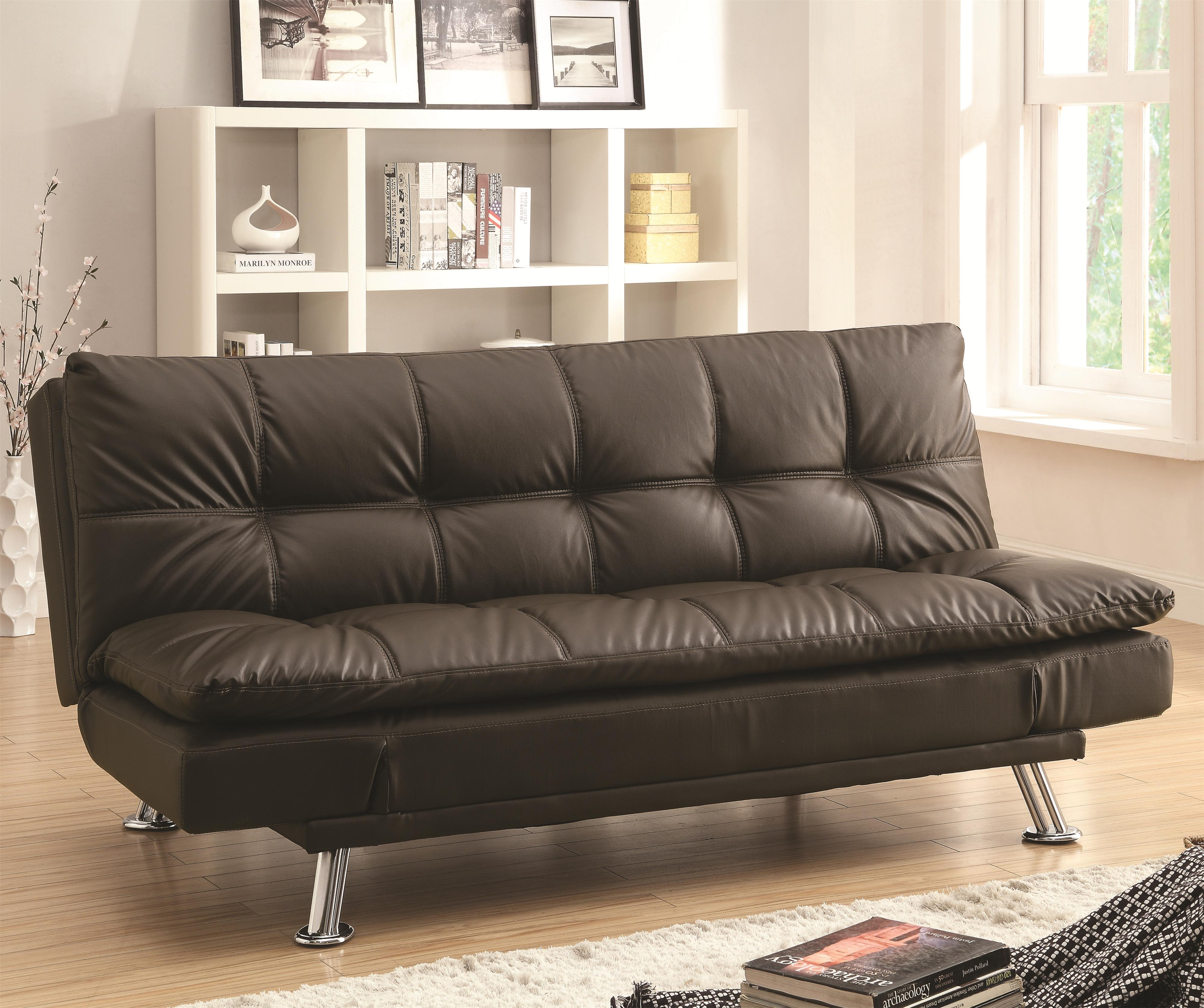Dilleston Sofa Bed in Futon Style by Coaster at Northeast Factory Direct