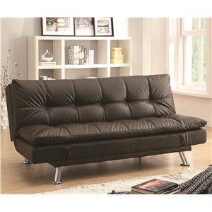 Coaster Dilleston Sofa Bed in Futon Style