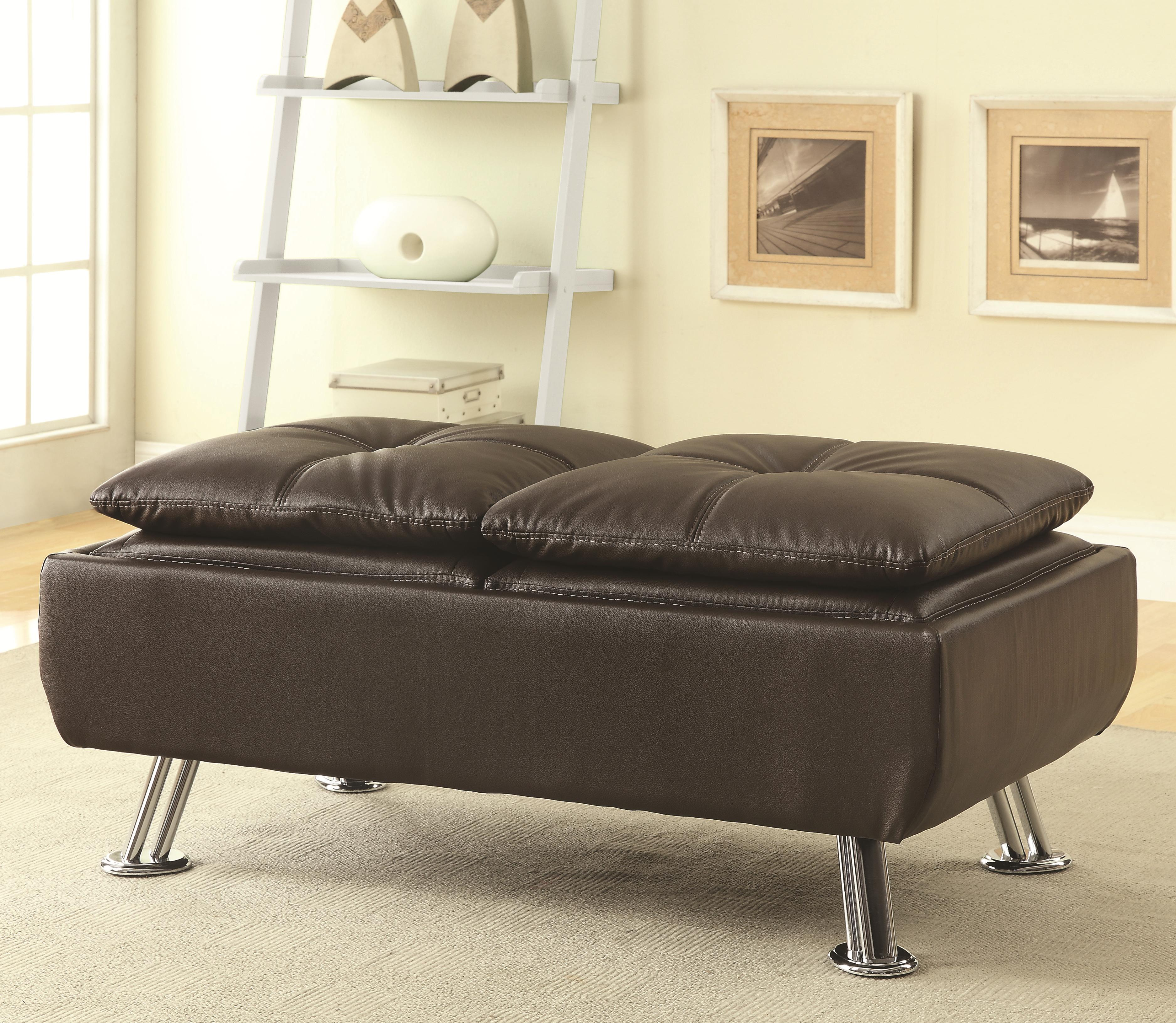 Dilleston Storage Ottoman by Coaster at Northeast Factory Direct