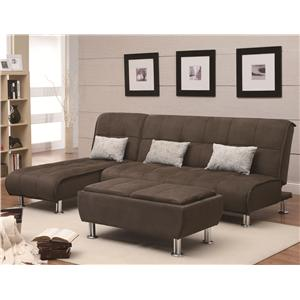 Coaster Sofa Beds and Futons Sectional Sofa