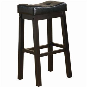 "29"" Bar Stool with Plush Upholstered Seat"