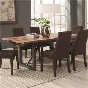 Dining Table with 18'' Extension Leaf