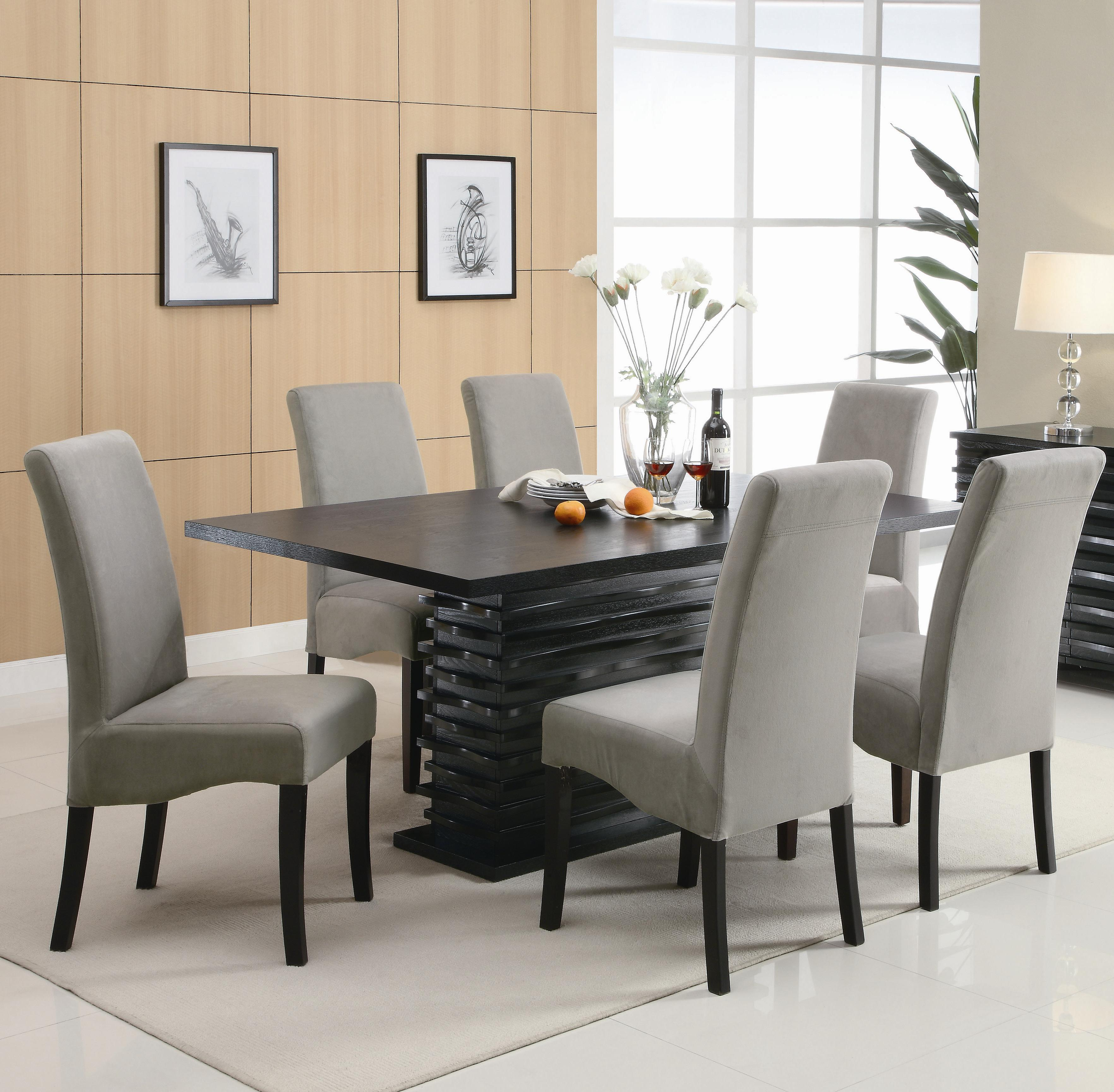 Stanton  7 Piece Table and Chair Set by Coaster at Northeast Factory Direct