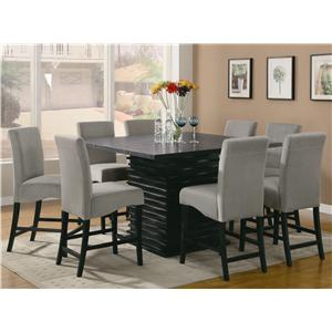 Coaster Stanton  9 Piece Table and Chair Set