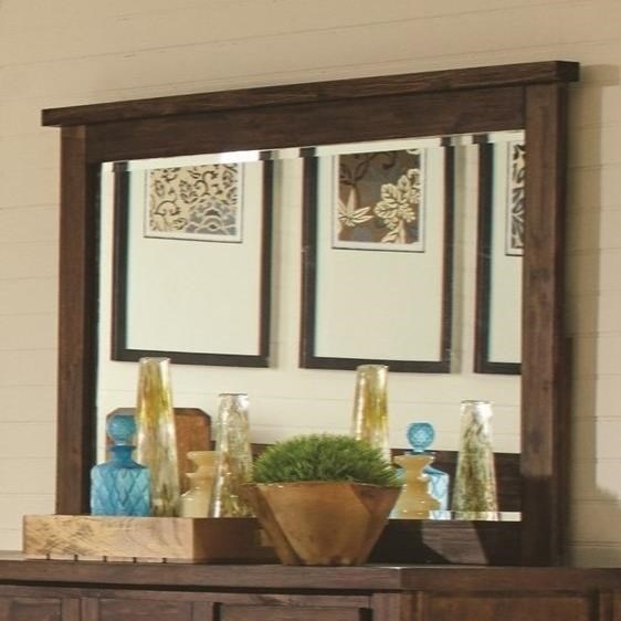 Sutter Creek Mirror by Coaster at Beck's Furniture
