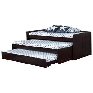 Triple Layer Daybed with Two Trundles