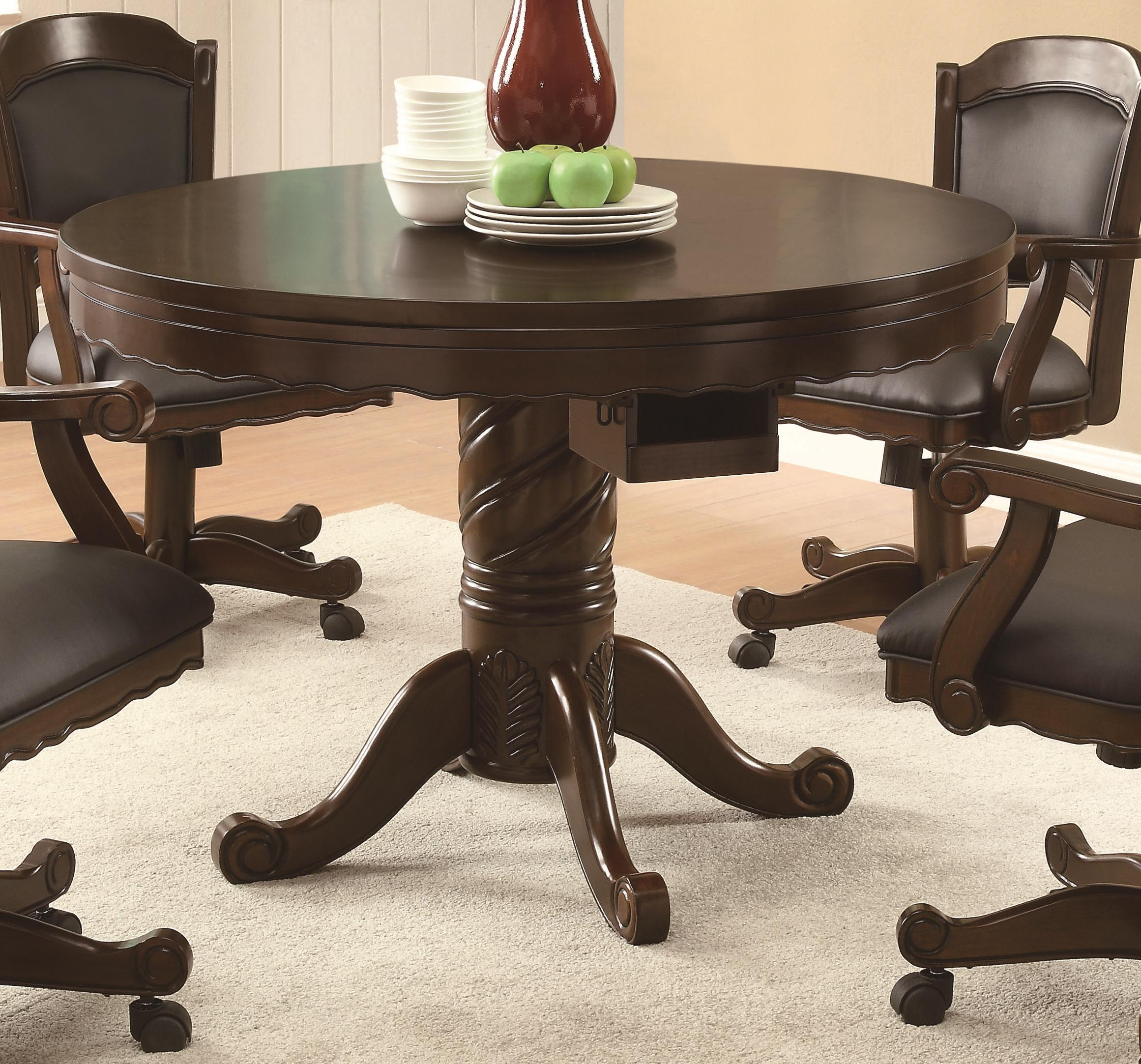 Turk Game Table by Coaster at Northeast Factory Direct