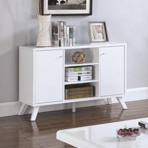 Glossy White Modern TV Stand