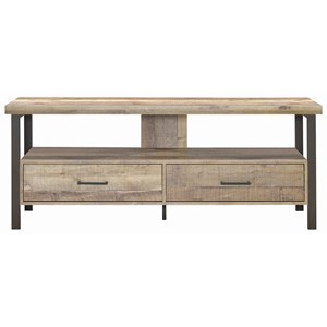 "Industrial 59"" TV Console"