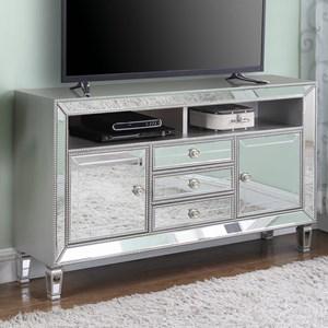 "Glam Mirrored 60"" TV Stand"