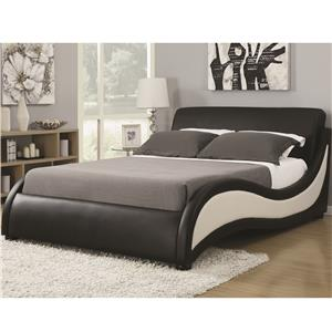 Queen Niguel Modern Upholstered Bed