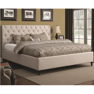 Coaster Upholstered Beds King Upholstered Bed