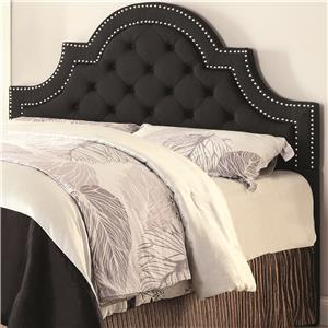 Queen/ Full Ojai Upholstered Headboard with Button Tufting