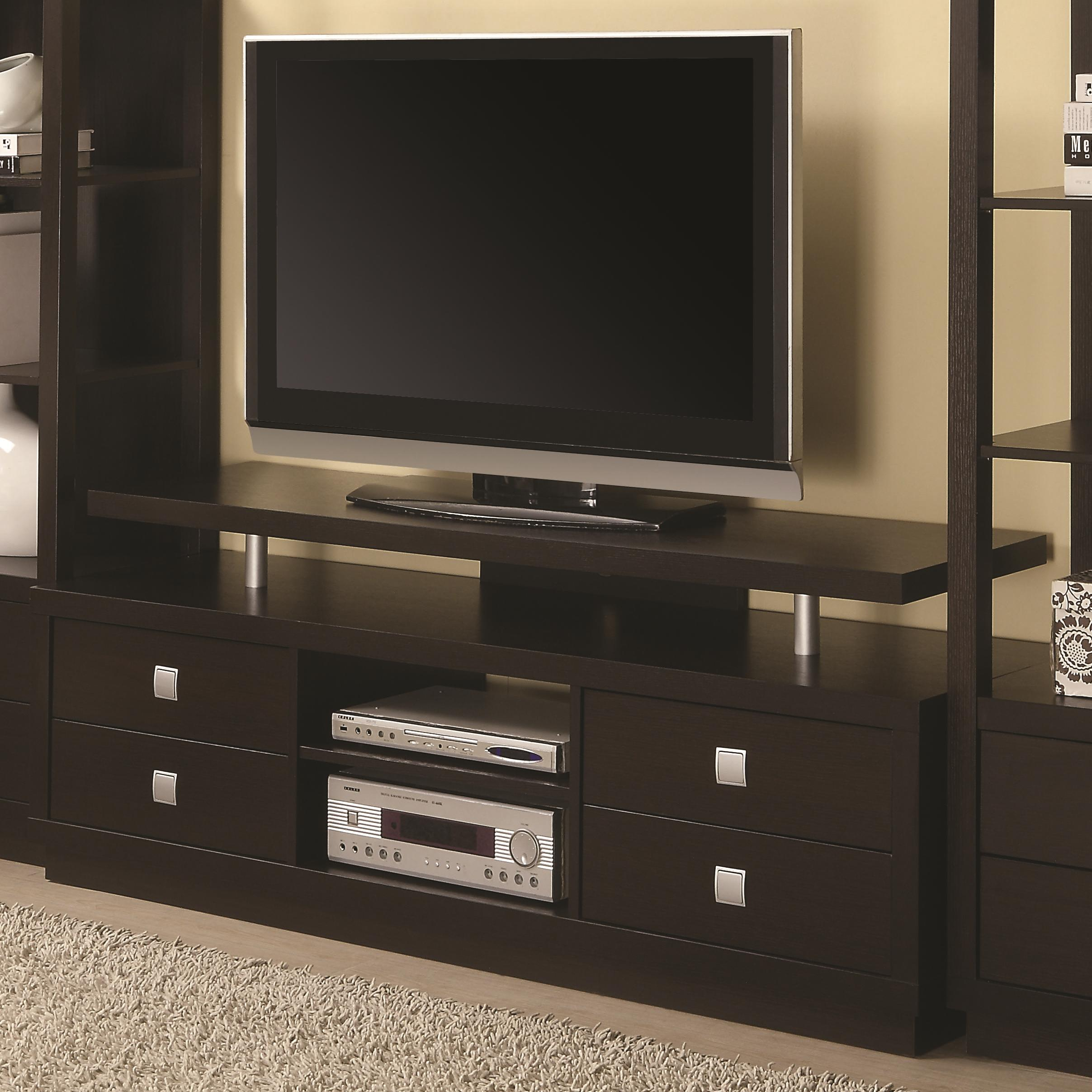 Entertainment Units TV Console by Coaster at Lapeer Furniture & Mattress Center