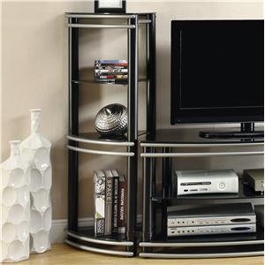 Coaster Entertainment Units Set of 2 Media Towers