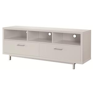Low TV Console w/ Metal Base