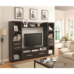 Coaster Entertainment Units Entertainment Wall Unit