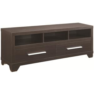 TV Stand with 3 Shelves and 2 Doors