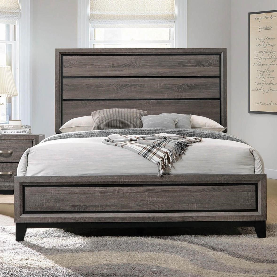 Watson Queen Bed by Coaster at Northeast Factory Direct