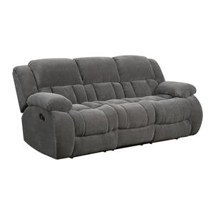 Casual Pillow Padded Reclining Sofa