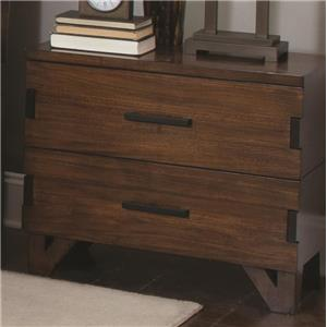 Nightstand with Charging Access