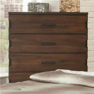 5 Drawer Chest with Exposed Finger Joints