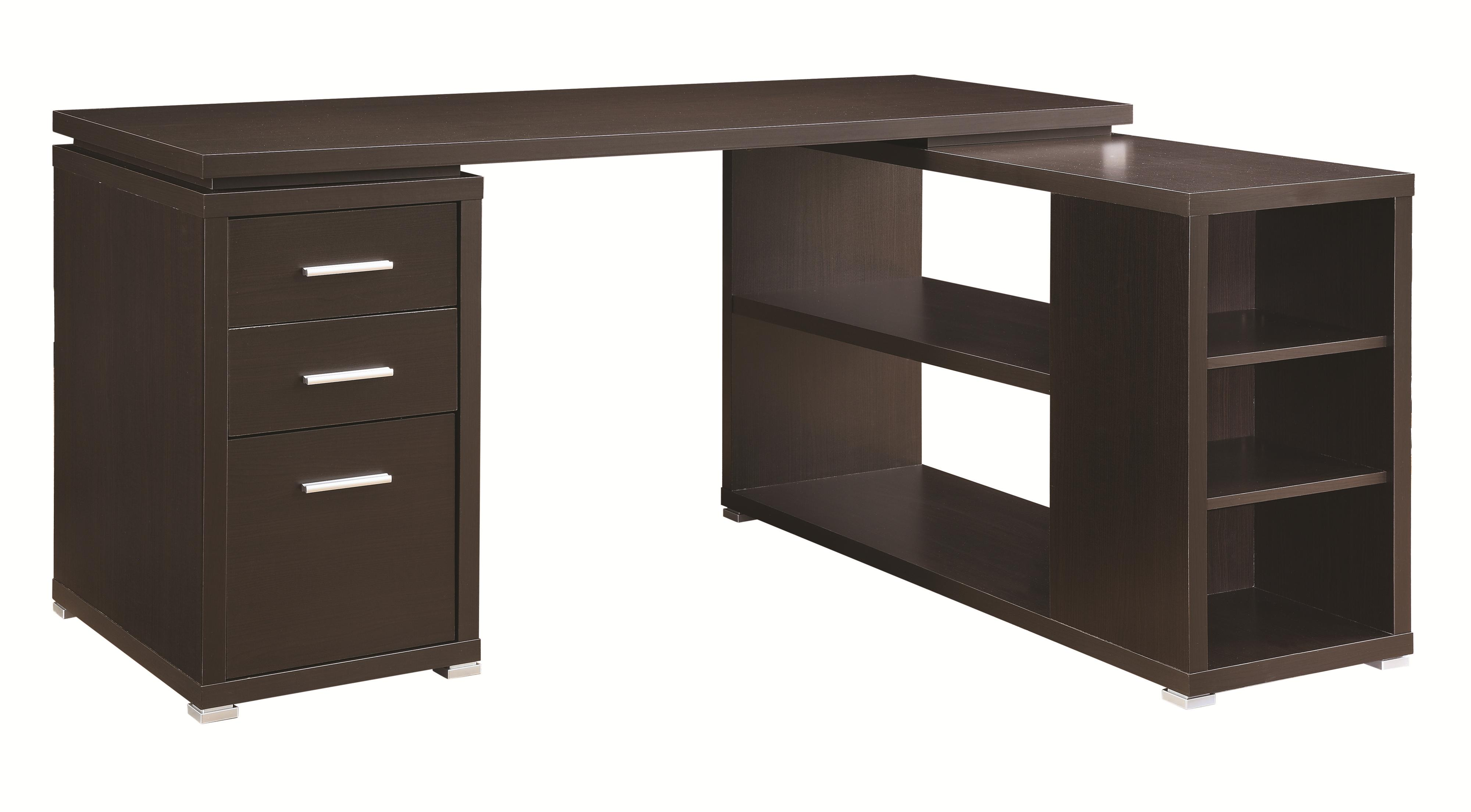 Yvette Office Desk by Coaster at Beck's Furniture