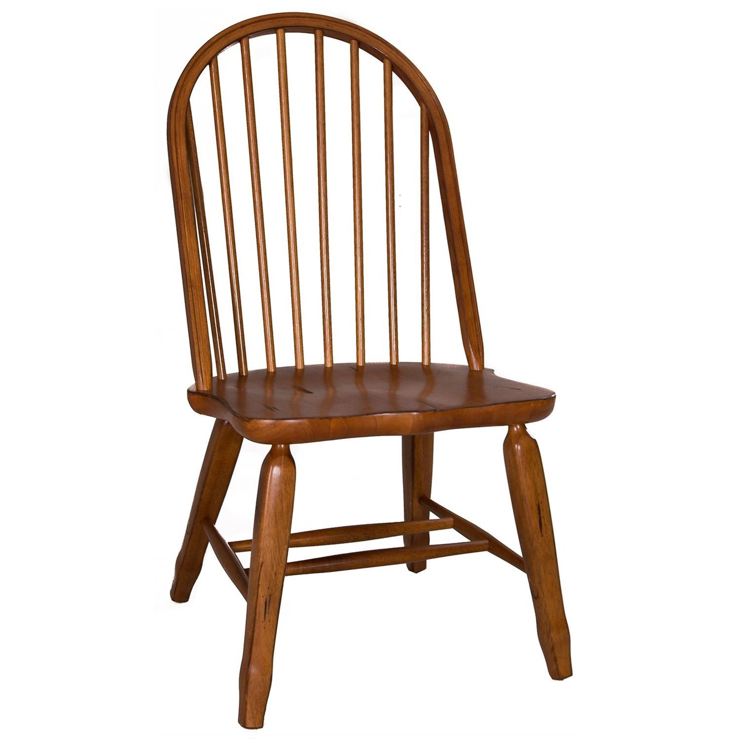 Treasures Bow Back Side Chair by Liberty Furniture at Steger's Furniture