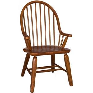 Bow Back Arm Chair