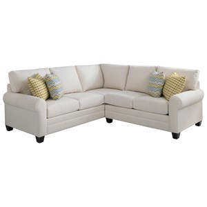 2 Piece L-Shaped Sectional