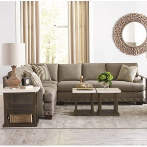 Carmine Five Seat Sectional Sofa