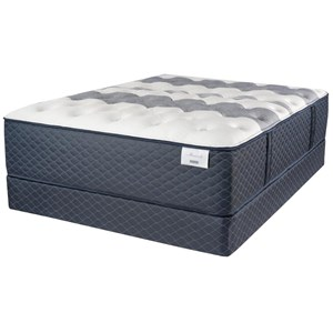 "Queen 14"" Firm Hybrid Mattress and Premium High Profile Foundation"