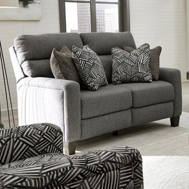 Mt. Vernon Double Reclining Power Loveseat by Southern Motion at A1 Furniture & Mattress