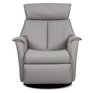 Compact Recliner Chair in Fabric