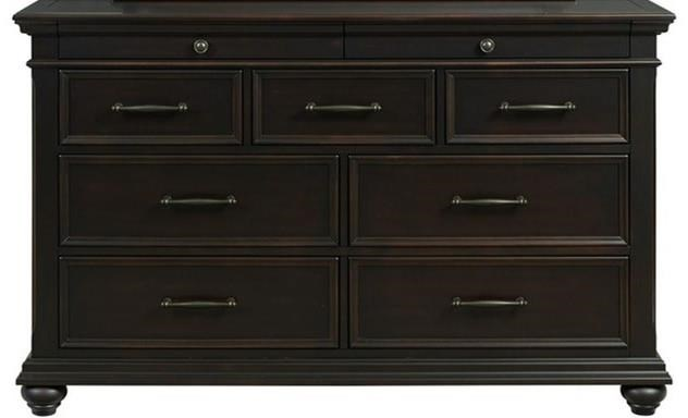 Slater Dresser by Elements International at Johnny Janosik