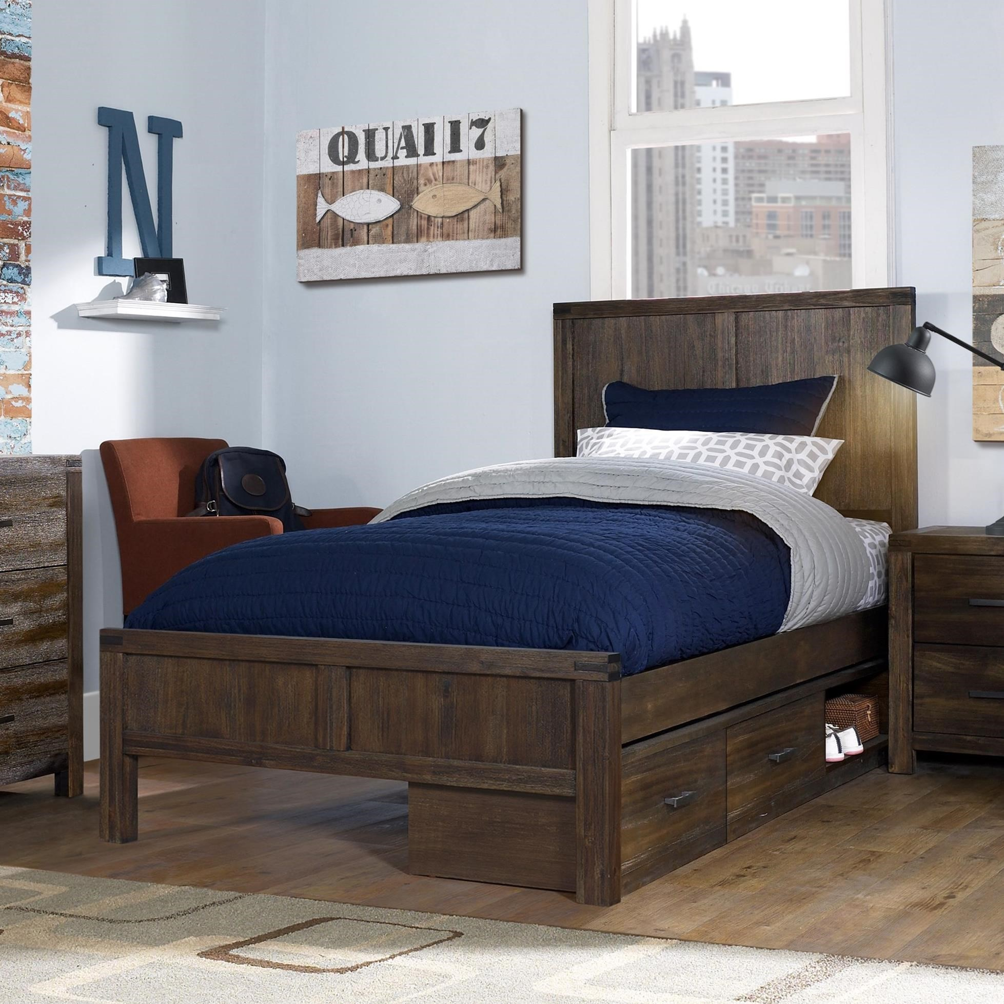 St. Croix Twin Panel Bed by Hillsdale at Darvin Furniture