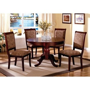 Traditional 5 Table and Chair Set