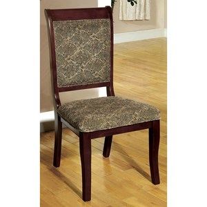 2 Pack of Traditional Side Chairs