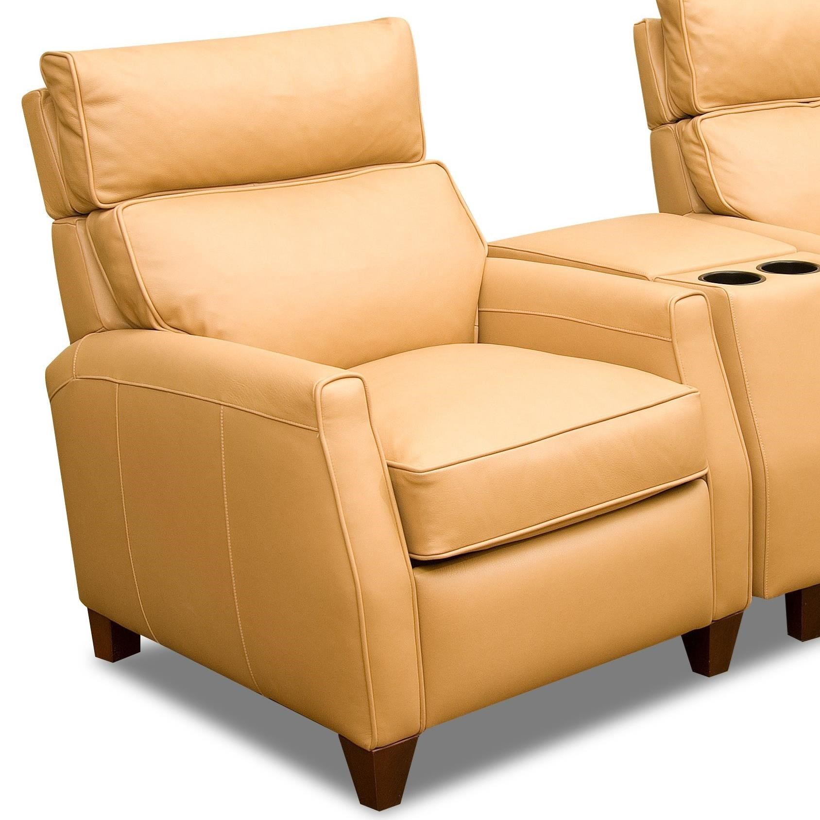 Collins High Leg Recliner by Comfort Design at Stuckey Furniture