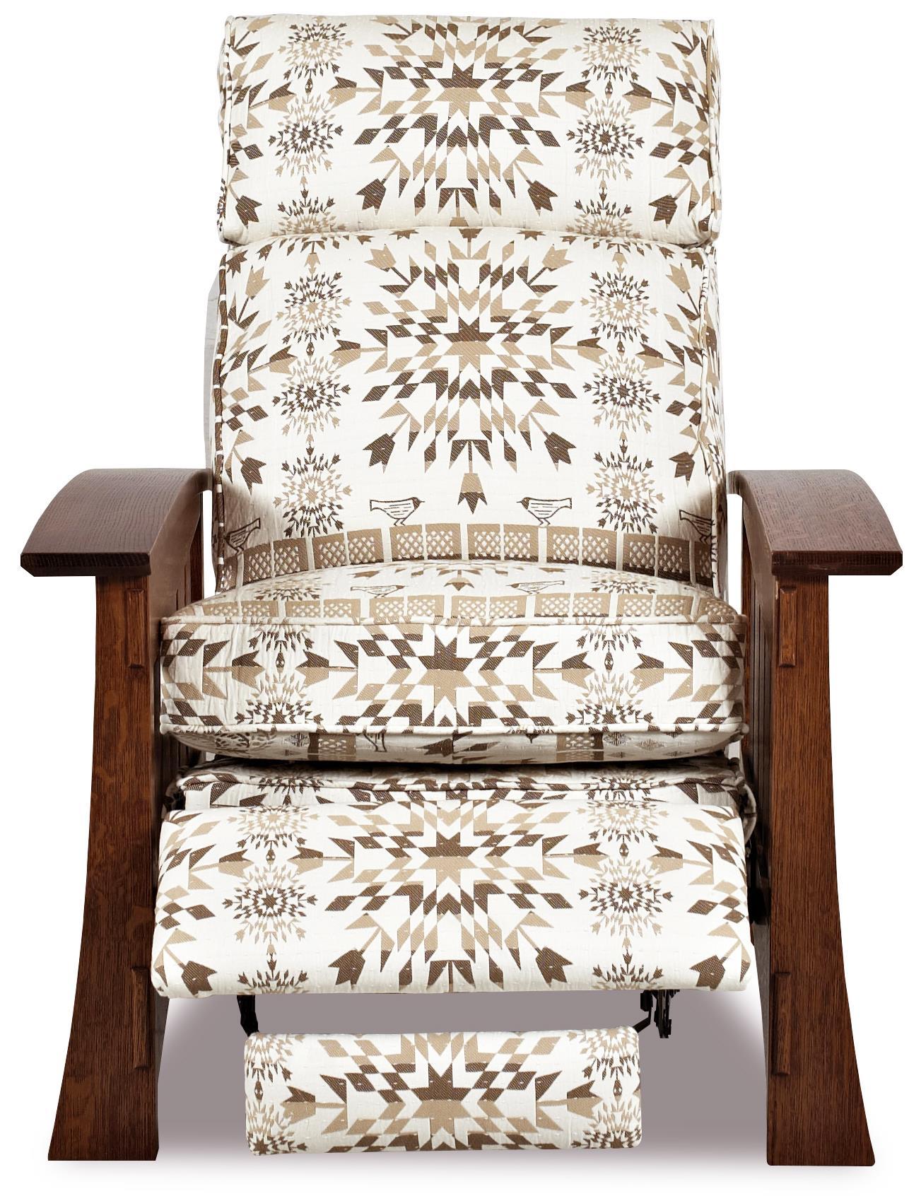 Highlands II High Leg Recliner by Comfort Design at Stuckey Furniture