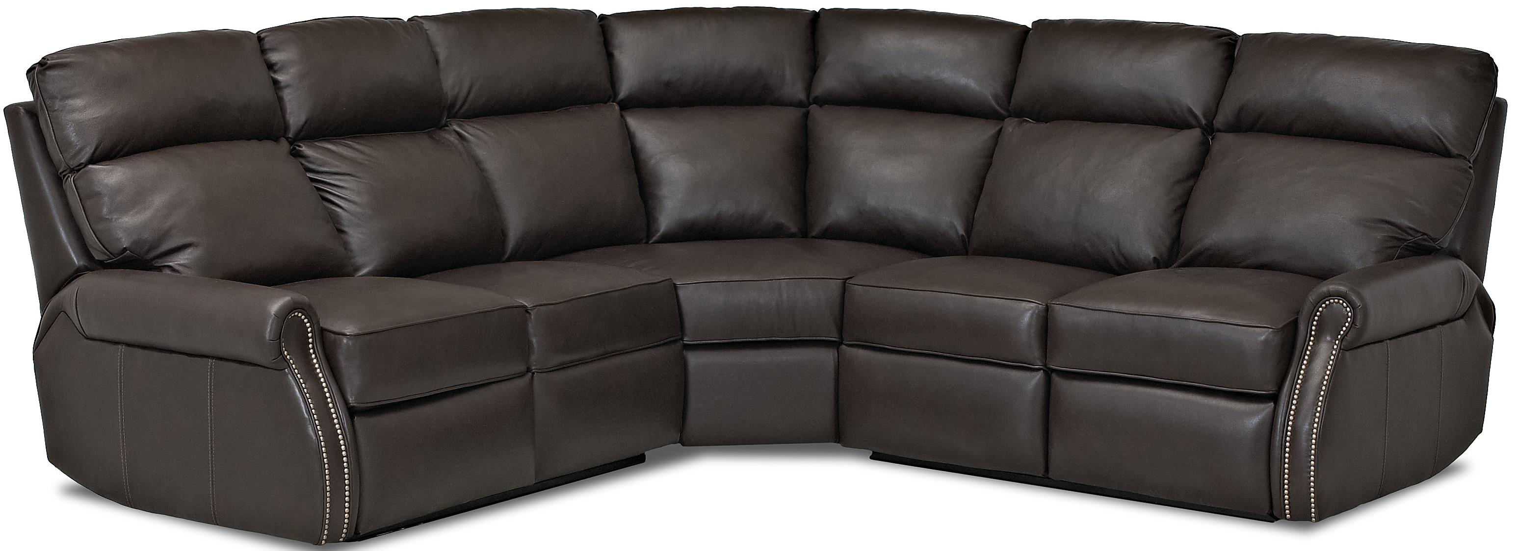Jackie II Reclining Sectional Sofa by Comfort Design at Stuckey Furniture