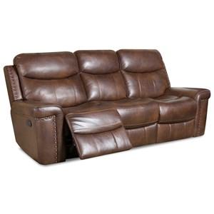 Power Reclining Sofa w/ Power Headrest