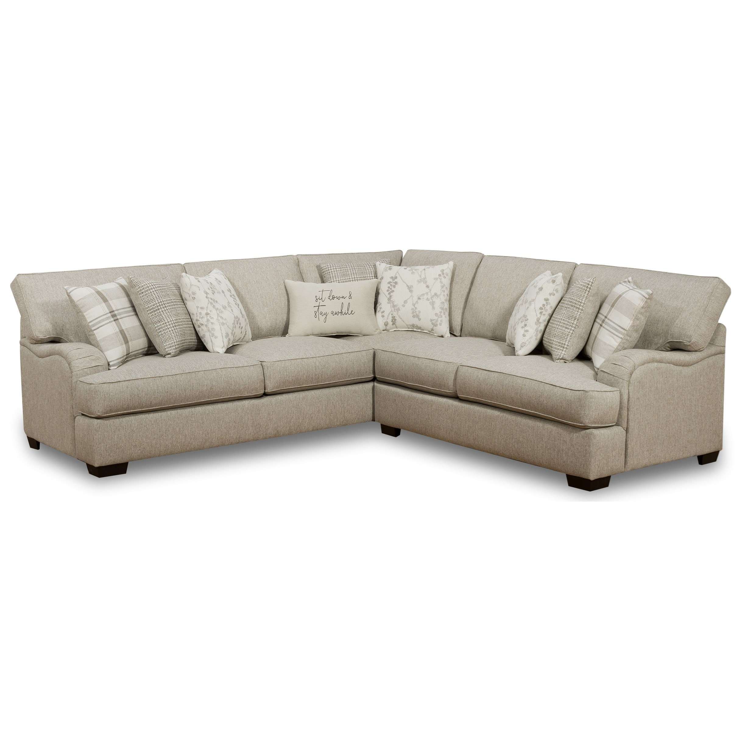 1100 2-Piece Sectional by Corinthian at Story & Lee Furniture