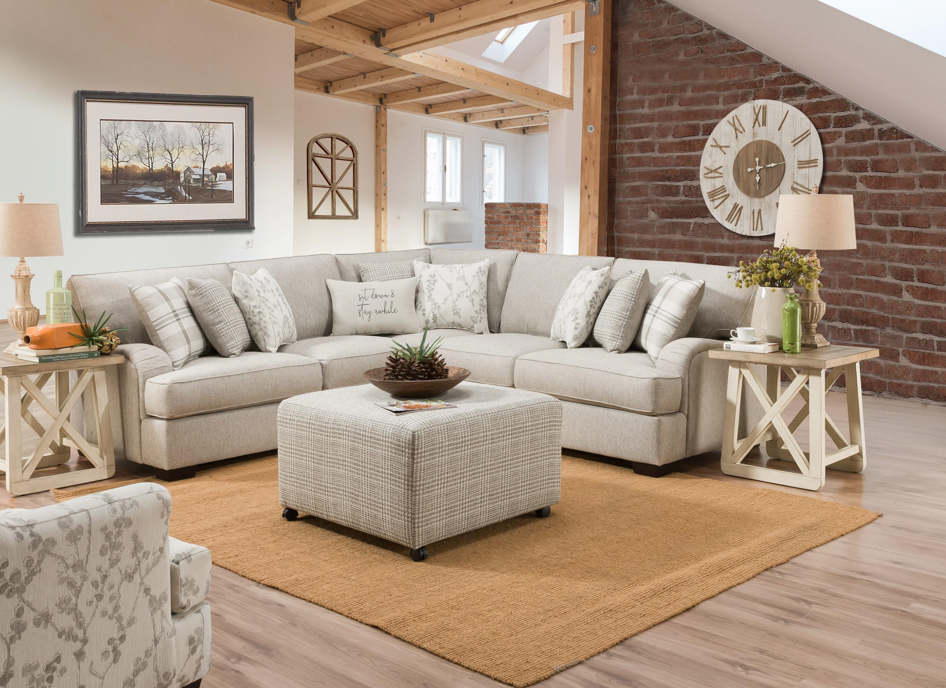 1100 Sectional TWO PIECE SECTIONAL by Corinthian at Furniture Fair - North Carolina