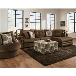 Corinthian 16C0 Stationary Living Room Group