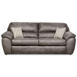 Casual Plush Sofa