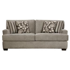 Sofa with Two Seat Cushions